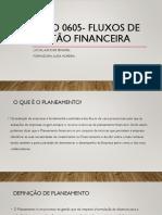 UFCD 0605- Fluxos de Gestão Financeira Final