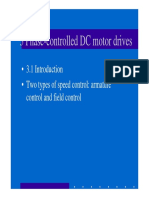 3 Phase-controlled DC Motor Drives