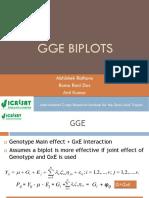 9-GGE BIPLOT