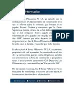 Millonarios, obligado a pagar enorme indemnización a Ricardo Ciciliano