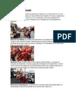 Danzas de Guatemala, imagen de traje tipico, historia de la marimba, comidas tipicas de guatemala, 2 leyendas, 2 canciones del folklore de guatemala, 2 personajes destacados, recursos no renovables, imagenes de los diferrentes tipos de contaminacion.docx
