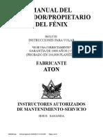 Manual Del Operador-propietario Del Fenix 14