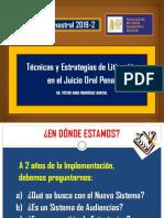 Técnicas y Estrategias de Litigación(1)