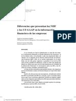 Diferencias Que Presentan Las NIIF y Los US GAAP