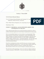 Navy Veteran Watler Fitzpatrick's formal complaint of treason against Barack Hussein Obama Soetoro Sobarkah