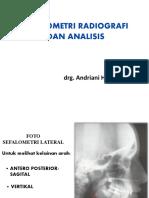 Sefalometri Radiografi Dan Analisis Ani