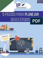 5 Passos para planejar seus estudos - UP Concurseiros.pdf