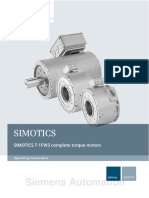 Siemens Automation. 1FW3 Complete Torque Motors SIMOTICS. Drive Technology 1FW3 Complete Torque Motors. Introduction. Fundamental Safety Instructions