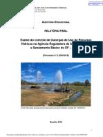 Relatório do TCDF sobre a Adasa