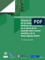 Potenciar Resiliencia de Las Ciudades