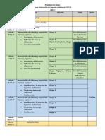 Programa de Clases impacto ambiental