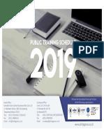 Jadwal Training 2019 Phitagoras Rev.0.41019