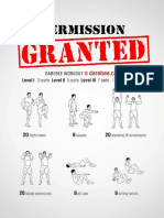 Permission Granted Workout