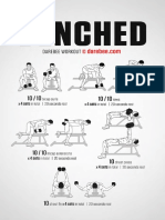 Benched Workout
