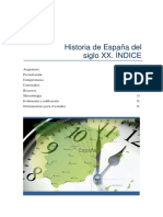 Historia Espana Sxx