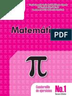Cuadernillo No1 de Ejercicios Matemática 2017