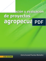 Formulacion y Evaluacion de Proyectos Agropecuarios Vista Preliminar Del Libro