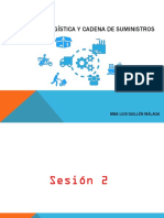 Dirección Logística y Cadena de Suministros - Sesión 2