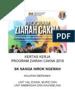 KERTAS KERJA Program Ziarah Cakna