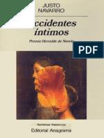 Accidentes Intimos - Navarro_ Justo