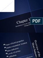 Chapter 1 - Overview of Hotel Industry