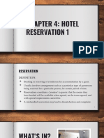 Chapter 4 Hotel Reservation
