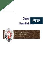 CC 03 Linear Block Code