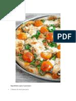 Pizza Vegetal