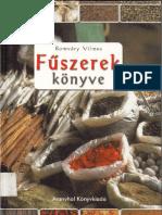 Romváry Vilmos - Fűszerek könyve