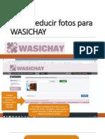 Como Reducir Fotos Para WASICHAY