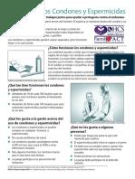 2014-4 CondomsSpermicides SPN 2-15ADA