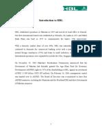 Hbl Internship Report (1)