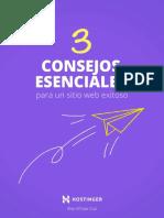3 Consejos Esenciales Para Un Sitio Web Exitoso