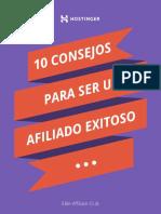 10 Consejos Para Ser Un Afiliado Exitoso