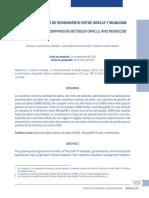 Una Comparación de Rendimiento Entre Oracle y Mongodb