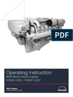 MAN D2840 LE301 Operating Instruction