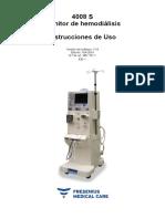 Manual Usuario Español Fresenius