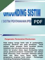 Sistem Pentanahan (Grounding Sistem).