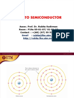 SEE 1063 Week 2 Intro to Semi & PN Junction