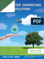 Aura Lite General Brochures Malaysia Rainwater Harvesting 2015