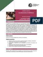 CEC PUCP Valorización de Empresas