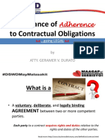 Contractual Obligations AICS Updated