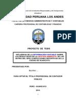 Proyecto de Tesis UPLA 2014