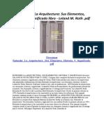 Entender La Arquitectura Sus Elementos Historia Y Significado.docx