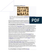 Antropología y Etnografía Soviética