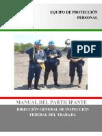 Manual equipo de protección personal