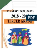 00 Enero - 3er Grado 2018