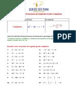 Ecuaciones de Segundo Grado(Autosaved)