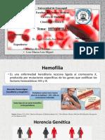 HEMOFILIA - CLÍNICA - GRUPO 5 - BRITO Y LOOR.pptx