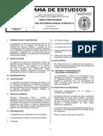 244 Derecho Internacional Publico I